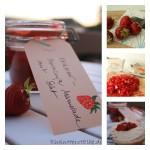 Ich liebe den Sommer… und möchte ihn mit Erdbeer-Marmelade einfangen