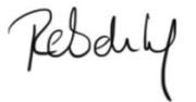 Rebekka-Unterschrift
