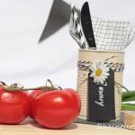 DIY Konservendosenrecycling | Besteckdose