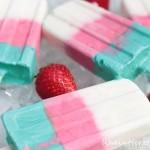 So schmeckt der Sommer…| Lollipop-Eis mit Minze und Erdbeere