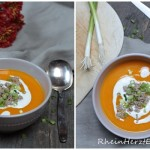Neues aus der Suppenküche | Kürbissuppe mit Hackfleisch