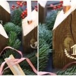 So schön ist die Adventszeit! |DIY Idee Adventshäuser