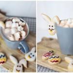 Tassenkekse mit Hasengesicht | Kekse aus Schwarztee