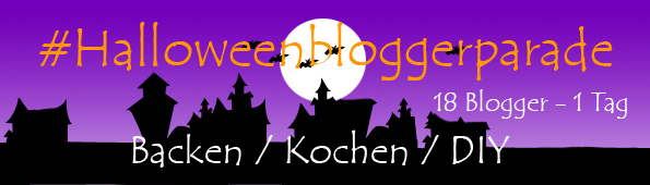 Banner Halloween Blogger Parade Runde Backen Kochen Food DIY
