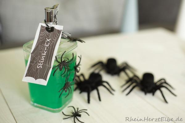Halloween Duschgel rheinherztelbe