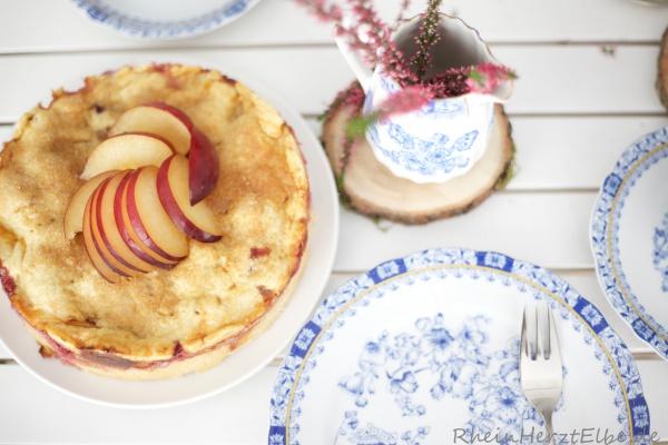 Marzipan_Pflaumenkuchen mit Zuckerkruste_rheinherztelbe_4