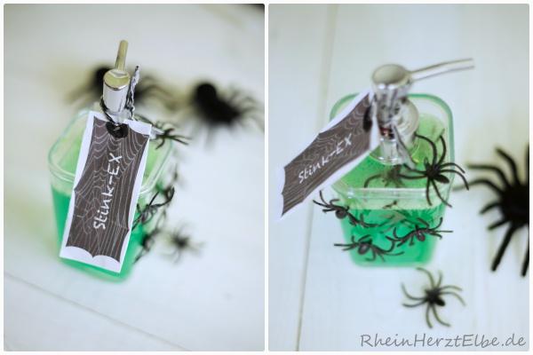 Halloween Seife rheinherztelbe