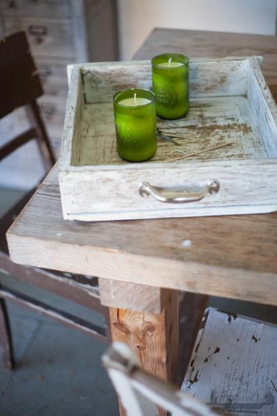 Kerzenlicht DIY Weinflaschen Handlettering rheinherztelbe