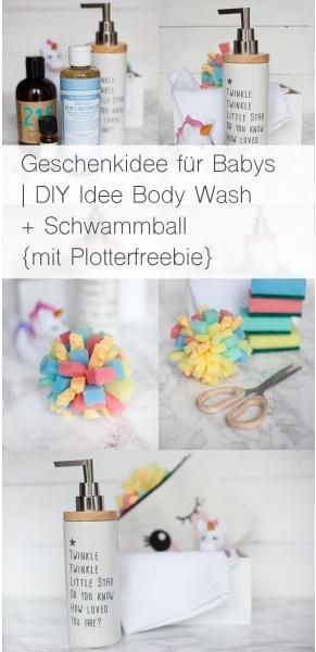 Body Wash Baby Rheinherztelbe DIY