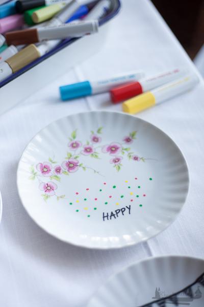PINTOR DIY rheinherztelbe Porzellan