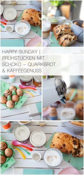 HAPPY SUNDAY | FRÜHSTÜCKEN MIT SCHOKO – QUARKBROT & KAFFEEGENUSS