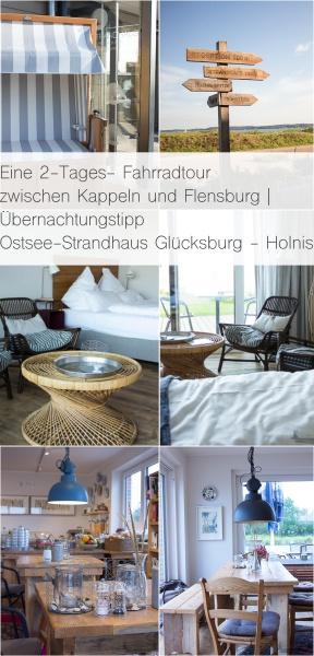 Eine 2-Tages- Fahrradtour zwischen Kappeln und Flensburg | Übernachtungstipp Ostsee-Strandhaus Holnis