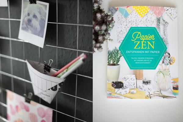 Buchvorstellung & Gewinnspiel Papierglück | PapierZen - Entspannen mit Papier