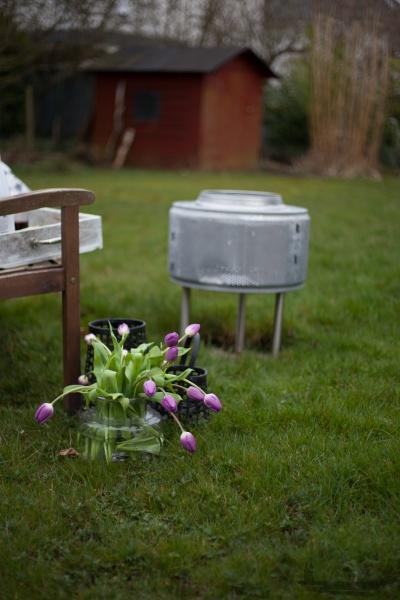 Waschmaschinentrommel feuerkorb DIY rheinherztelbe