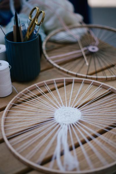 DIY Projekt Rundweben | zu Besuch in der bastelliebe Hamburg