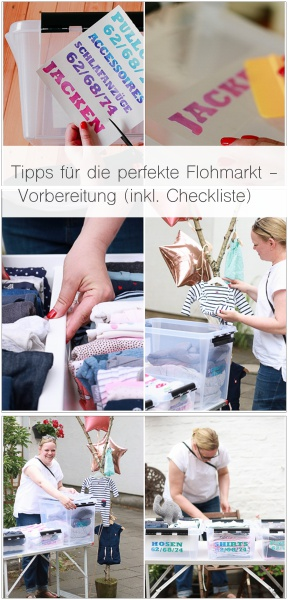 Werbung | Tipps für die perfekte Flohmarkt - Vorbereitung (inkl. Checkliste)