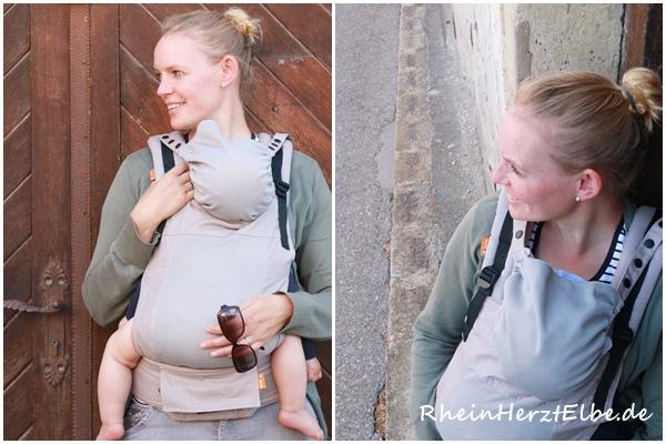 Rheinherztelbe Baby Tula Babytrage 2