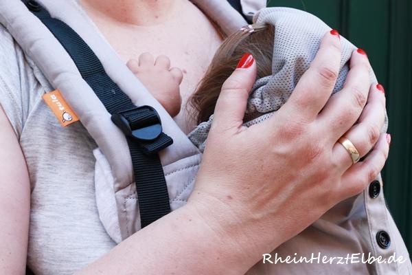Rheinherztelbe Baby Tula Babytrage 1