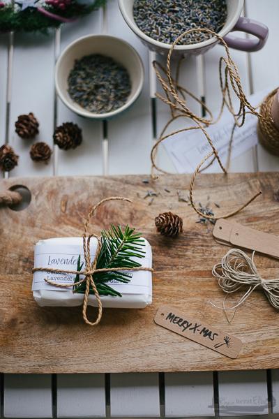 DIY Idee Lavendel Seife mit Hafer Rheinherztelbe