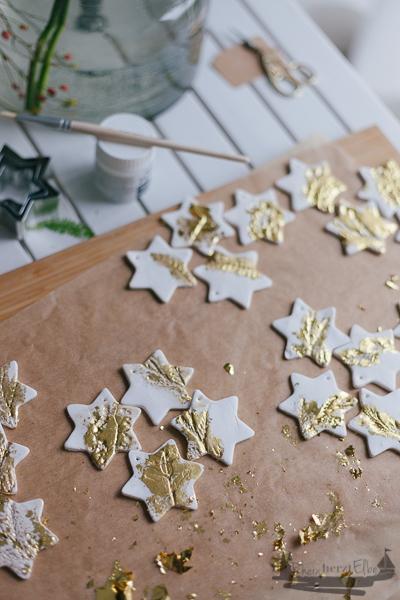 Adventsschmuck und Geschenkhänger aus FIMO | DIY Idee zu Weihnachten