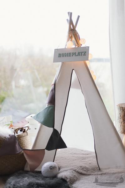 | DIY Idee Tipi Rheinherztelbe