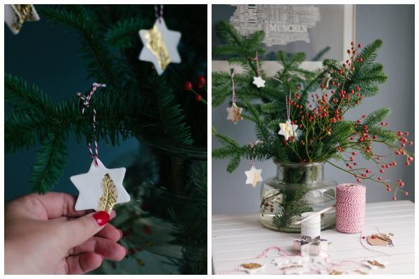Adventsschmuck und Geschenkanhänger aus FIMO | DIY Idee zu Weihnachten